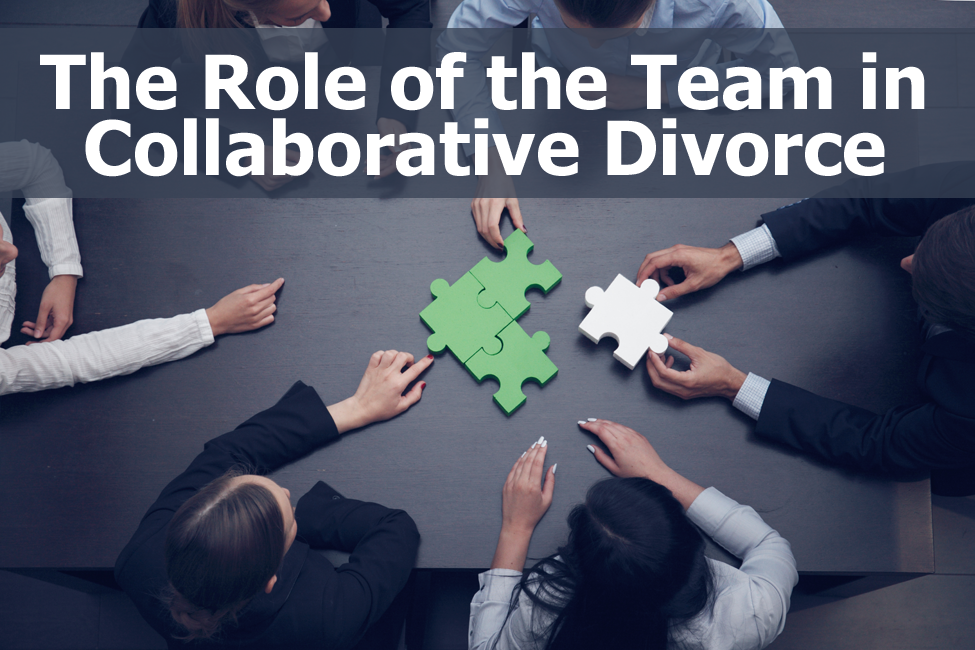 THE ROLE OF THE TEAM IN THE COLLABORATIVE PROCESS
